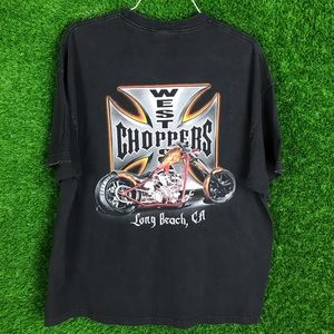 Vintage West Coast Choppers Cali Motorcycle Shirt